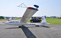D-5958 @ LFQO - GLIDER on air show at Lille Marcq airfield July 07 2013 - by Yves Labbe