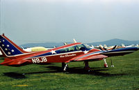N9JB @ RDG - Cessna 310L as seen at the 1976 Reading Airshow. - by Peter Nicholson