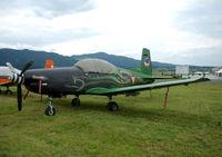 3H-FG @ LOXZ - Austrian AF PC-7 - by Thomas Ranner