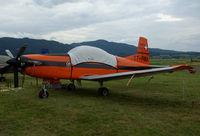 T7-FMA @ LOXZ - Swiss AF PC-7 - by Thomas Ranner