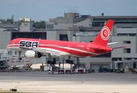 YV304T @ MIA - Santa Barbara Venezuela 757