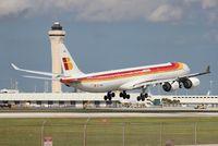 EC-JBA @ MIA - Iberia A340-600