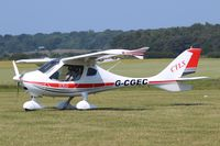 G-CGEC @ X3CX - Just landed at Northrepps. - by Graham Reeve