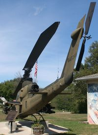 66-15249 - AH-1G Cobra at a VFW Hall in Crosswell Michigan - by Florida Metal