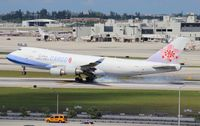 B-18716 @ MIA - China Airlines Cargo 747-400
