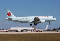 C-GKOE @ MIA - Air Canada A320