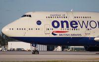 G-CIVK @ MIA - British 747-400