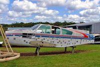 VH-ATB @ YCDR - Beech 95-C55 Baron [TE-437] Caloundra~VH 19/03/2007. All that remains.
