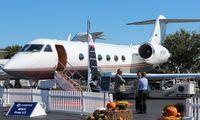 N100HF @ ORL - Gulfstream IV - by Florida Metal