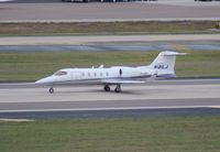 N121LJ @ TPA - Lear 31A - by Florida Metal