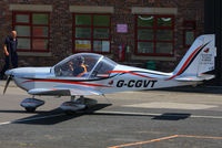 G-CGVT @ EGCB - at the Barton open day and fly in - by Chris Hall