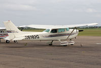 N6182G @ EGSU - Cessna 172N Skyhawk 100 II, Duxford Airfield, July 2013. - by Malcolm Clarke