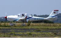 D-EZBB @ EGFH - Visiting Aquila A210. - by Derek Flewin