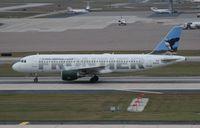 N261AV @ TPA - Frontier puffin A320