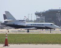 N358MH @ DAB - Falcon 50
