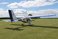 G-FJTH @ X5FB - Aeroprakt A-22 Foxbat. A Fly UK 2013 team member's aircraft at Fishburn Airfield, June 2013. - by Malcolm Clarke
