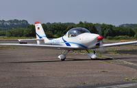 D-EZBB @ EGFH - Visiting Aquila A210. - by Roger Winser