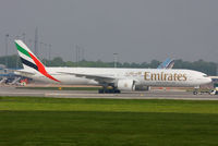 A6-ENF @ EGCC - Emirates - by Chris Hall