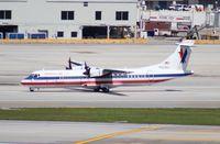 N425MJ @ MIA - American Eagle ATR 72