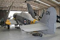 G-CHFP @ EGSU - Hawker Sea Fury T.20. At The Imperial War Museum, Duxford. July 2013. - by Malcolm Clarke