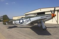 N7715C @ KCNO - At Planes of Fame Museum , Chino California