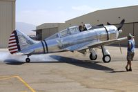 N55539 @ KCNO - At Planes of Fame Museum , Chino California