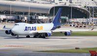N475MC @ MIA - Atlas 747-400F