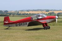 G-BKDX @ X3CX - Just landed at Northrepps. - by Graham Reeve