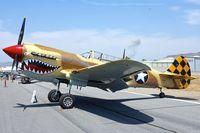 N85104 @ KSEE - Static Park - 2013 Wings over Gillespie Airshow , San Diego , CA