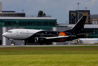 G-POWC @ EGCC - Titan Airways - by Chris Hall