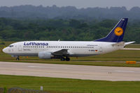 D-ABXU @ EGCC - Lufthansa - by Chris Hall