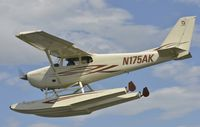 N175AK @ PALH - At Lake Hood Seaplane Base