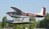 N1623C @ PALH - Departing Lake Hood