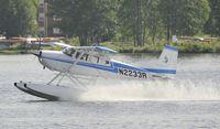 N2233R @ PALH - Arriving at Lake Hood