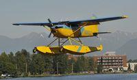 N357LC @ PALH - Landing at Lake Hood