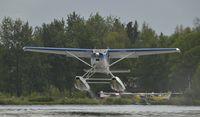 N185KA @ PALH - Departing Lake Hood