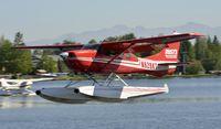N626KT @ PALH - Landing at Lake Hood