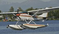 N234JB @ PALH - Departing Lake Hood