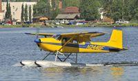 N2448F @ PALH - Taxiing on Lake Hood