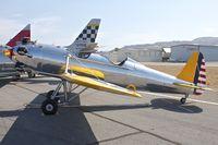 N46795 @ KSEE - At 2013 Wings Over Gillespie Airshow , San Diego , California