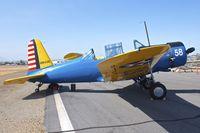 N10458 @ KSEE - At 2013 Wings Over Gillespie Airshow , San Diego , California