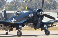 N240CF @ KSEE - At 2013 Wings Over Gillespie Airshow in San Diego , California