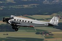 HB-HOS @ INFLIGHT - Ju Air Junkers Ju52
