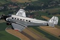 HB-HOS @ INFLIGHT - Ju Air Junkers Ju52