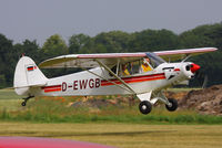 D-EWGB @ EGBR - at the Real Aeroplane Club's Wings & Wheels fly-in, Breighton - by Chris Hall