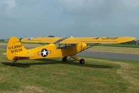 G-FUZZ @ EGBR - at the Real Aeroplane Club's Wings & Wheels fly-in, Breighton - by Chris Hall