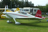 G-IVII @ EGBR - at the Real Aeroplane Club's Wings & Wheels fly-in, Breighton - by Chris Hall
