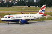 G-EUPN @ ZRH - British Airways - by Chris Jilli