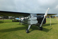 G-APRO @ EGBR - at the Real Aeroplane Club's Wings & Wheels fly-in, Breighton - by Chris Hall