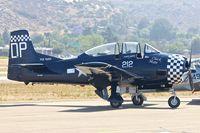 N212DP @ KSEE - At 2013 Wings Over Gillespie Airshow in San Diego , California